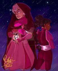  SU AU  - Hereditary Pink Steven