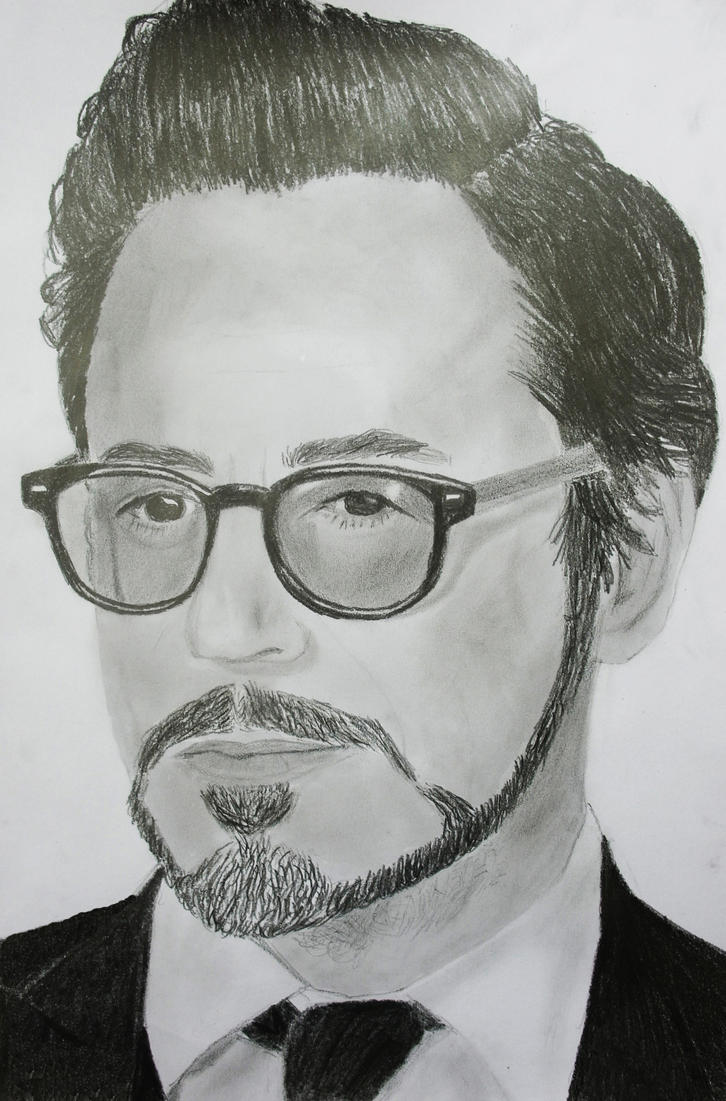 Robert Downey Jr. by MBdrawings