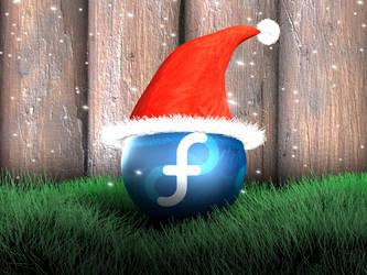 fedora christmas by Mola-mp