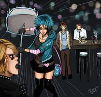 Ramona Flowers vs the world by shani-kun