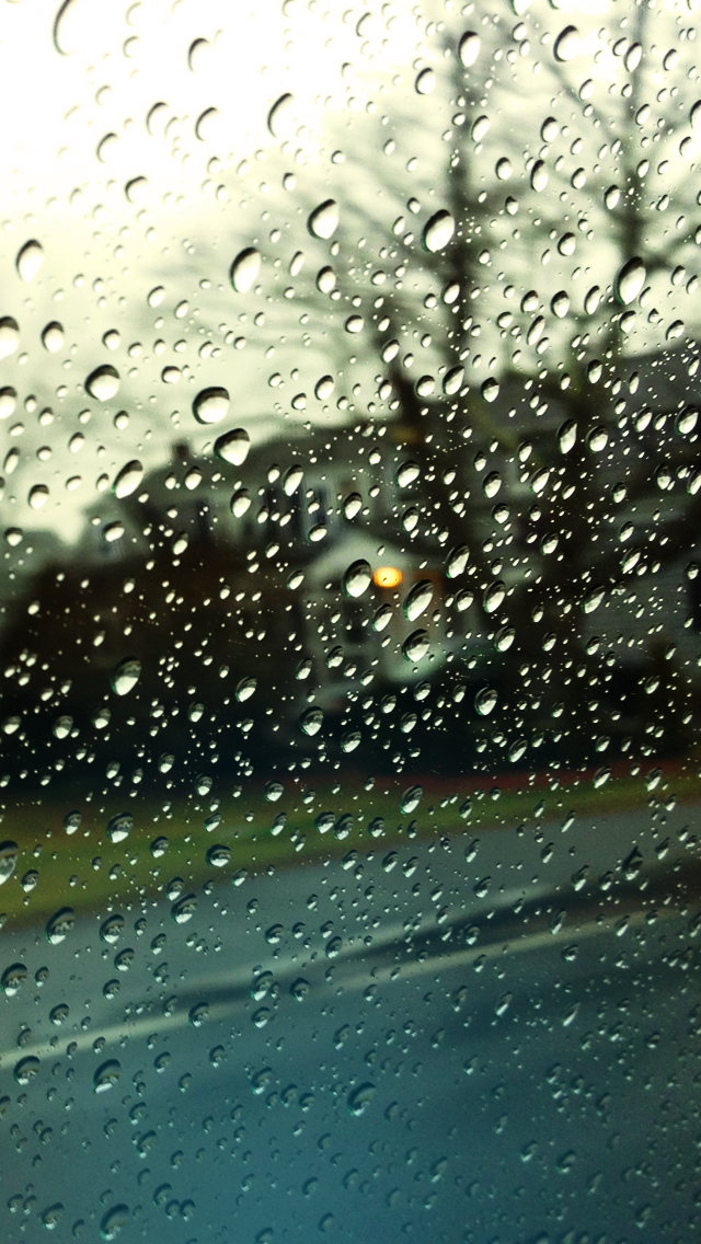 Rainy Road Iphone Wallpaper By Tonofshell On Deviantart