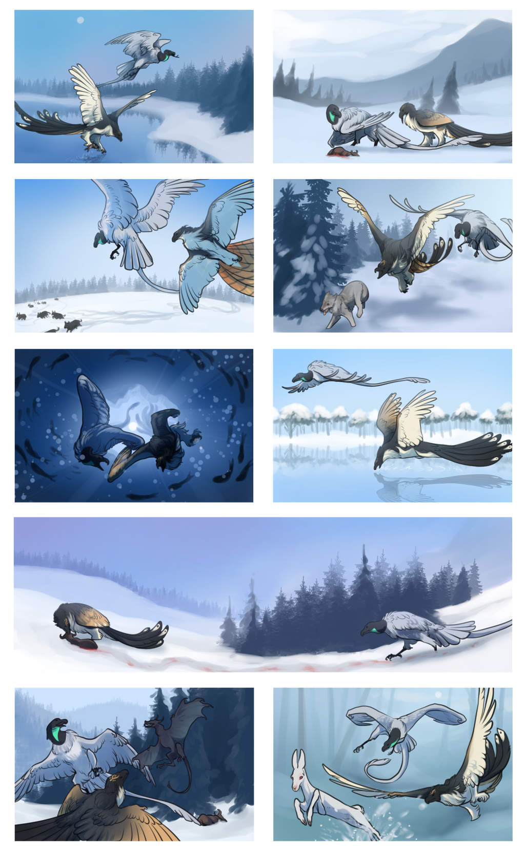 Winter Hunting Trip by PimsriARPG