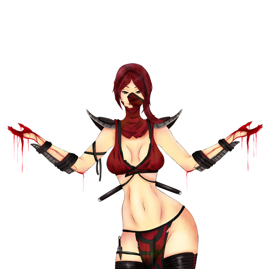 Scarlet (transparent) by Narushiz