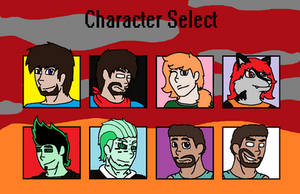Character Select by HerobrineSings