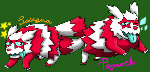 Shiny Zigzagoon Brothers - Lasagna and Poprock