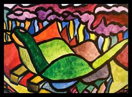 it's a bird by nkazoura