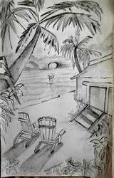 Palm beach  by Shim-Z