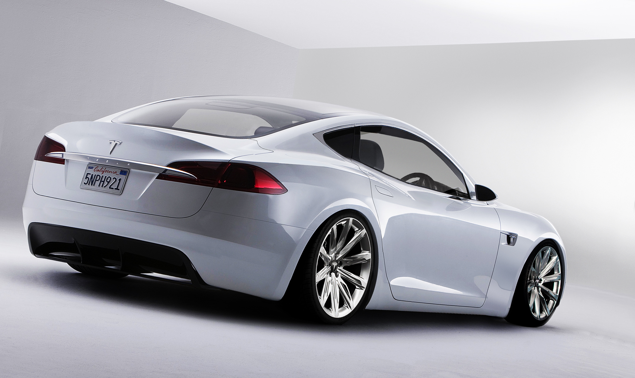 Model S Coupe Concept Rendering