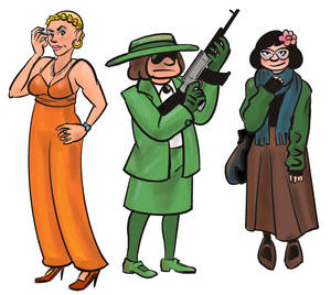 30 Days of Chars #28,29,30: The Rustinova Sisters