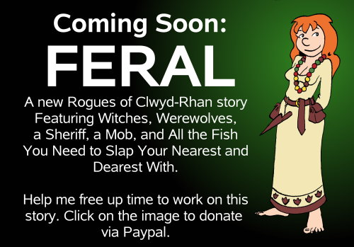 Feral promo with begging.