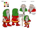 Jake the Gnome model sheet