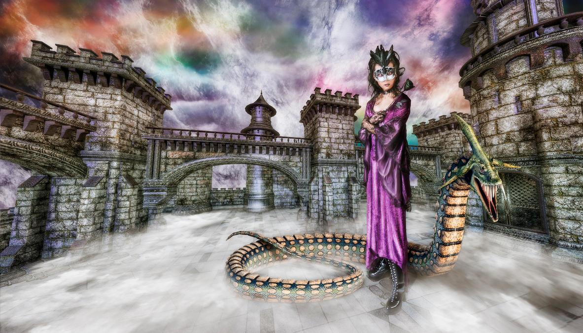Dark Mistress by owakulukem
