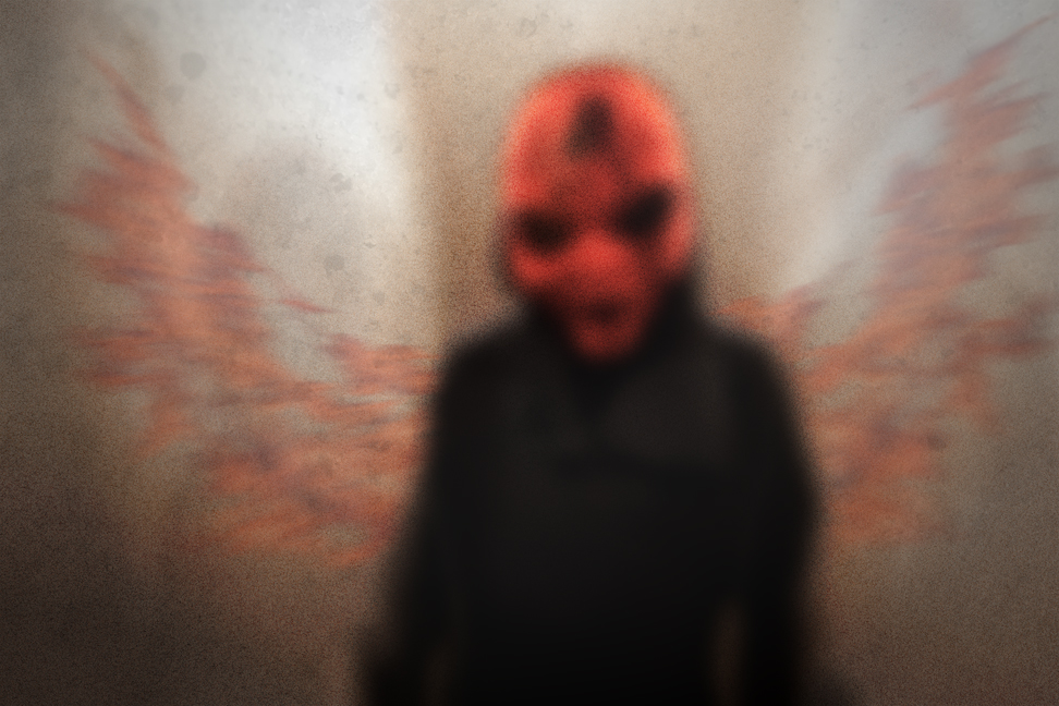 Devil in Darkness by owakulukem