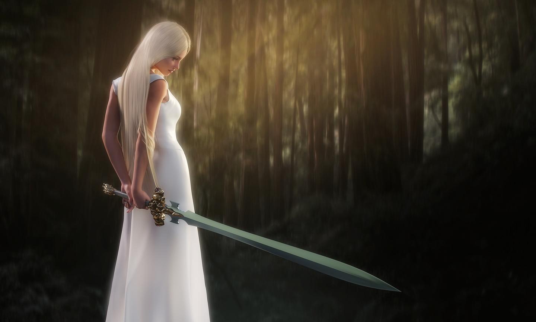 Forest-Maiden by owakulukem