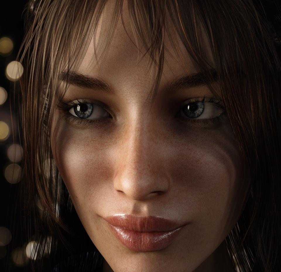 Close Up Portrait by owakulukem