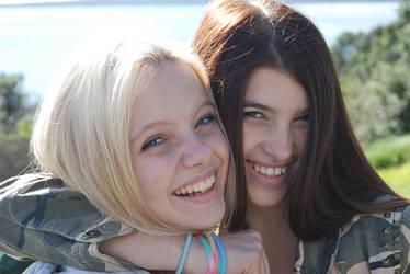 Sasha and Narelle
