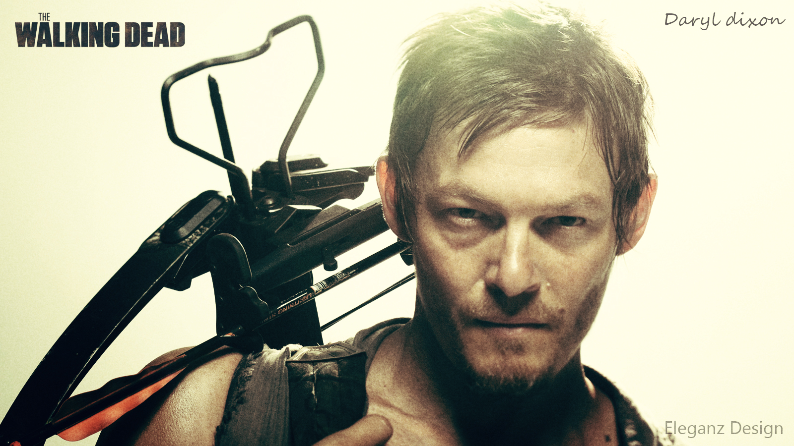Daryl Dixon (The walking dead) Wallpaper by EleganzDesign