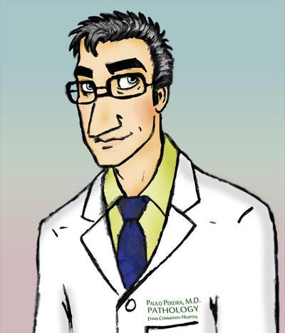 Dr. Paulo Pereira, M.D. -- Original Character by ameraucanablues