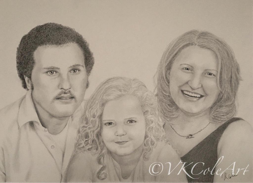 Family portrait  by VKCole