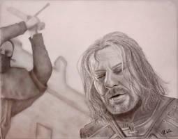 The Death of Eddard Stark by VKCole