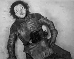 The Death of Jon Snow by VKCole