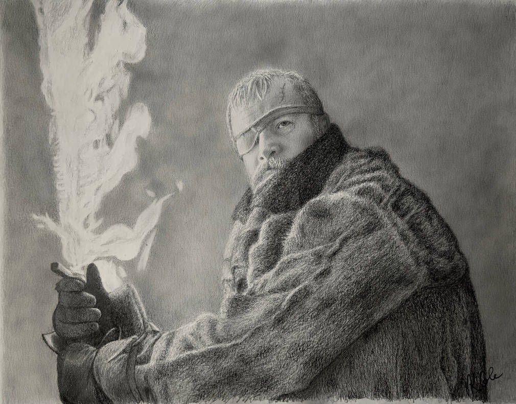 Beric Dondarrion Beyond the Wall by VKCole