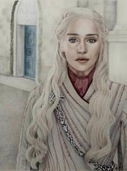 Daenerys Targaryen  by VKCole