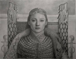 The Queen in the North  by VKCole