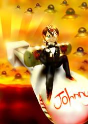 Little Johnny Rocketshoes by ashtreydaze