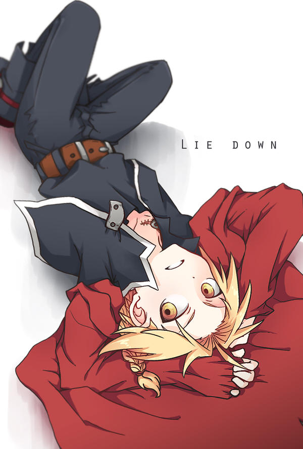 Ed: Lie Down by c0ralus
