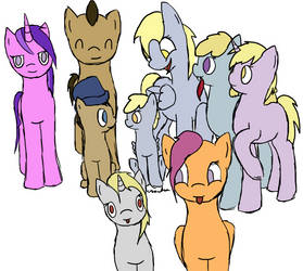 Request: Whooves Family by Ikilou