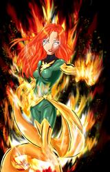 Jean Grey-Phoenix by PhoenixVibe