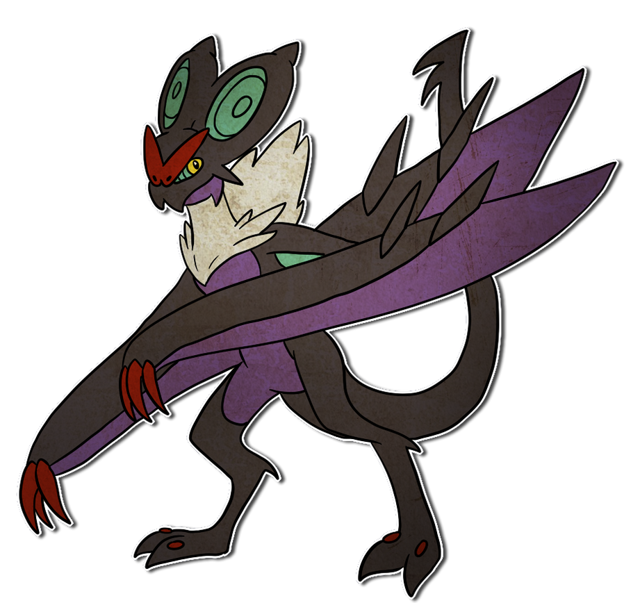 Woobat Evolution Chart #715 Noivern by RiotLi...