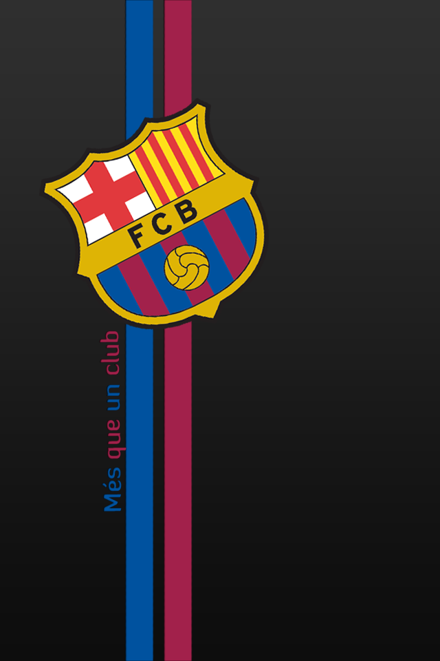 Fc Barcelona Iphone 4 Hd By 7thedevil7 On Deviantart