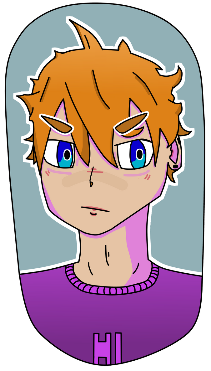 #2 - Accidental Hinata? - 4th March 17 by JourneyInArt