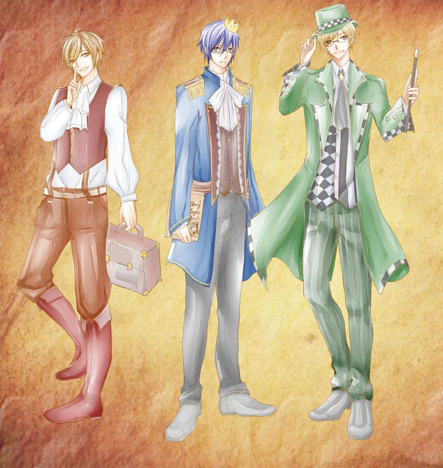 [TTB R1] Story of magic and you by KuroBaka22