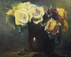 Still life 4 - Roses by olejny