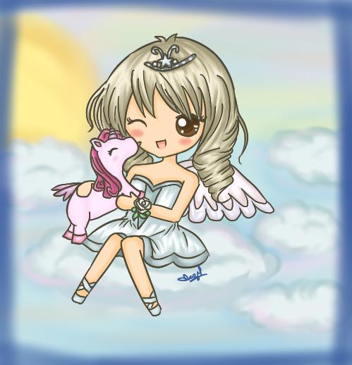 chibi angel wings - photo #34
