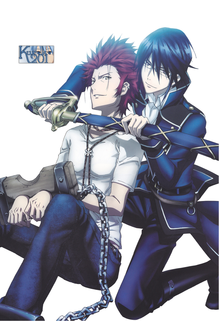 Renders anime Munakata_reisi_x_suoh_mikoto_render_by_kuroko201-d65c6gh