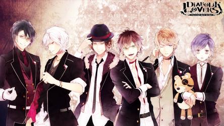 Diabolik Lovers Wallpaper by Kuroko201