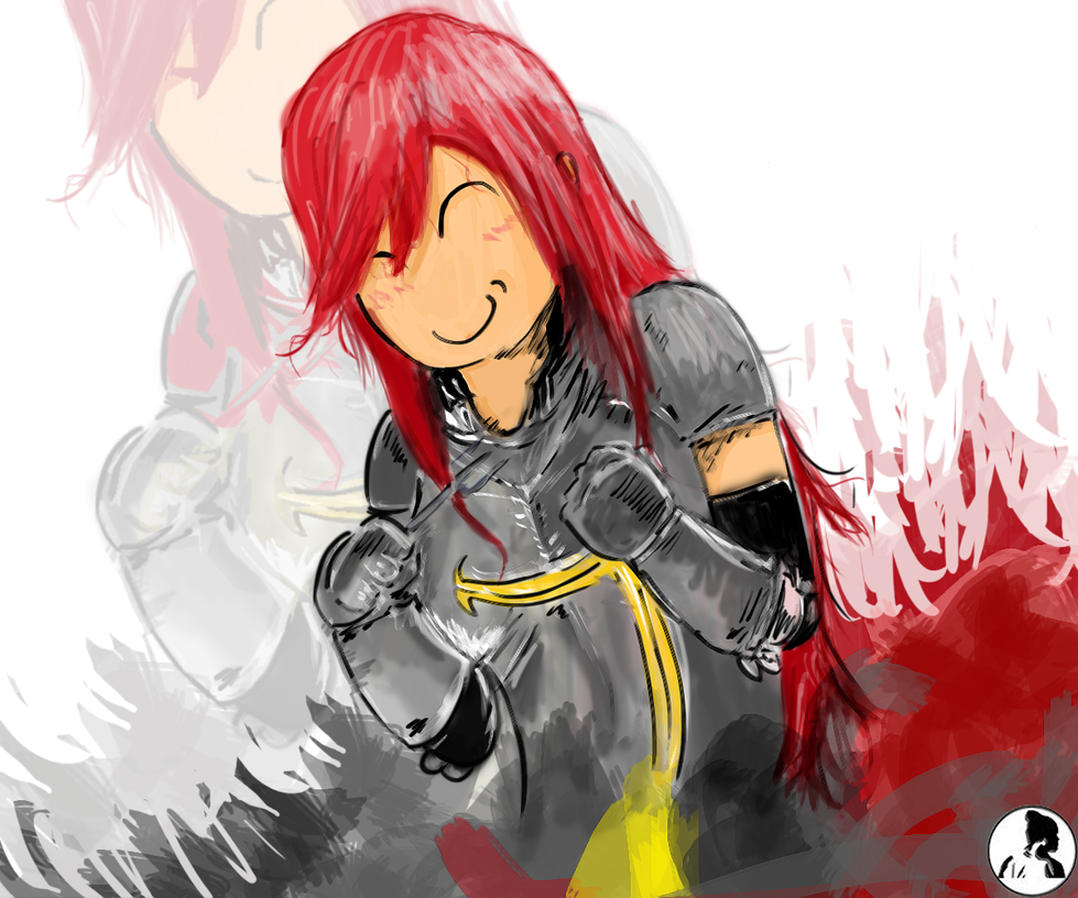 Erza Scarlet Wallpaper: Erza Scarlet By PratikTAMU On DeviantArt