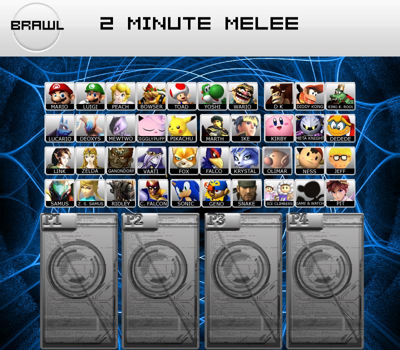 Super Smash Bros. Brawl - Sticker Elements/Damage Types FAQ