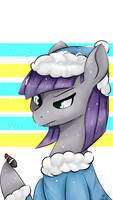 Maud Pie and Boulder - Snowing by Dashy21