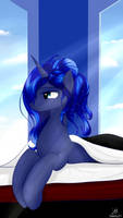 Good Morning Luna by Dashy21