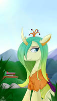 Reformed queen chrysalis - Tea Time by Dashy21