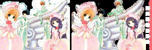 Render Sakura Card Captor by MomoTheDesigner