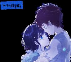 Render Nagi no Asukara by MomoTheDesigner
