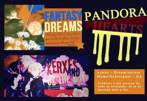 Pandora Hearts pack by MomoTheDesigner