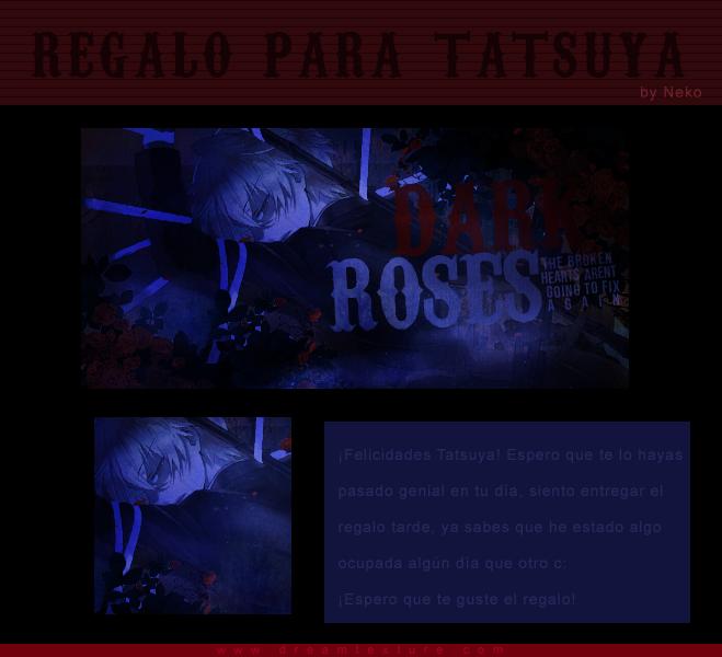 Felicidades Tatsuya ~~ by MomoTheDesigner