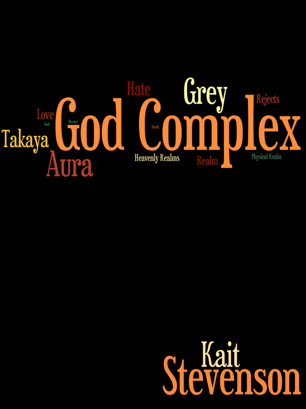 How To Make A Book Cover For Nanowrimo : Nanowrimo god complex book cover by